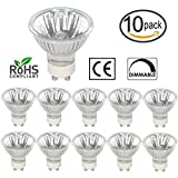 [10 Pack] Simba Lighting™ 50 Watt GU10 JDRC MR16 120V 50W...