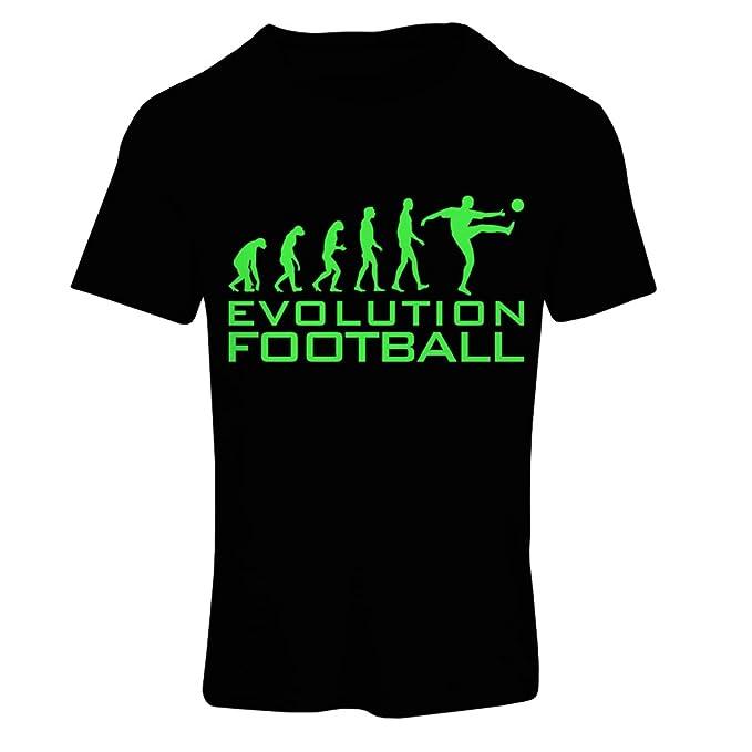 lepni.me Camiseta mujer La Evolución del Fútbol - Copa del Mundo de Fútbol, Camisa de Ventilador del Equipo, Campeonato de Rusia 2018: Amazon.es: Ropa y ...