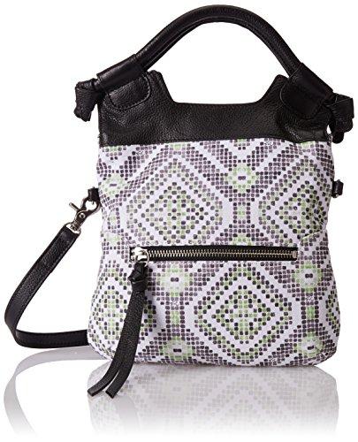 Foley + Corinna Disco City Cross Body Bag, Neon Weave, One Size Disco City Cross Body