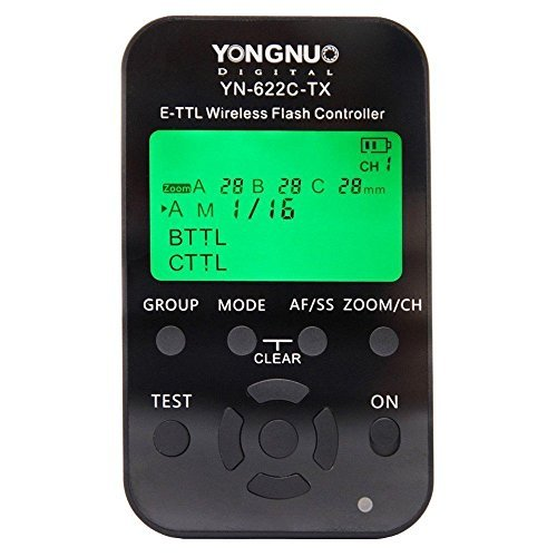 Yongnuo-YN-622C-Wireless-ETTL-High-speed-Synchronous-Flash-Trigger-Receiver-Transmitter-Transceiver-For-Canon-Camera