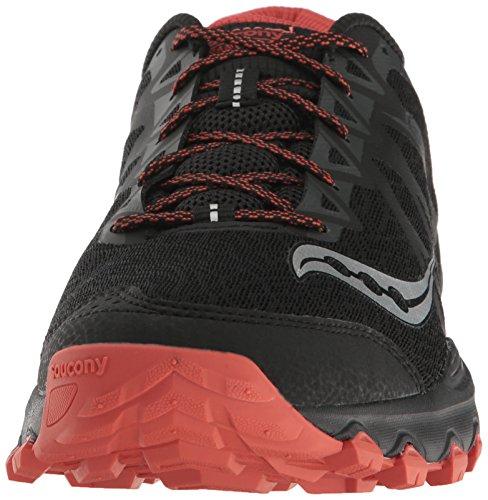 Saucony Mens Grid Caliber TR Trail Runner Black/Grey/Orange