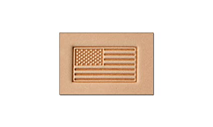 Amazon Com Tandy Leather Craftool 3 D Stamp American Flag 8580 00