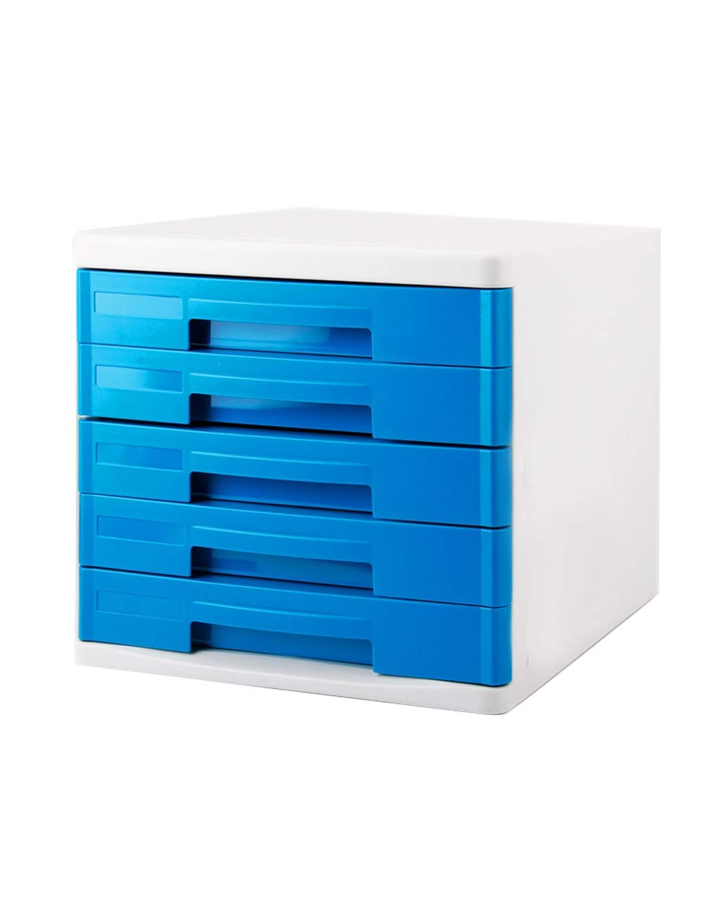 File Cabinet Office Desktop A4 Plastic Data Cabinet Drawer Desktop Cabinet File Storage Cabinet Storage Box (Design: 5 Drawers) Filing cabinets