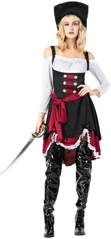 LBFKJ Disfraz de Cosplay, Reina gótica de Halloween, Juego de ...