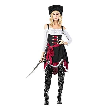 LBFKJ Disfraz de Cosplay, Reina gótica de Halloween, Juego ...