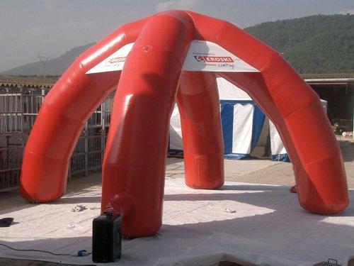 Tucuman Aventura - Zelt für 4-legged Messen