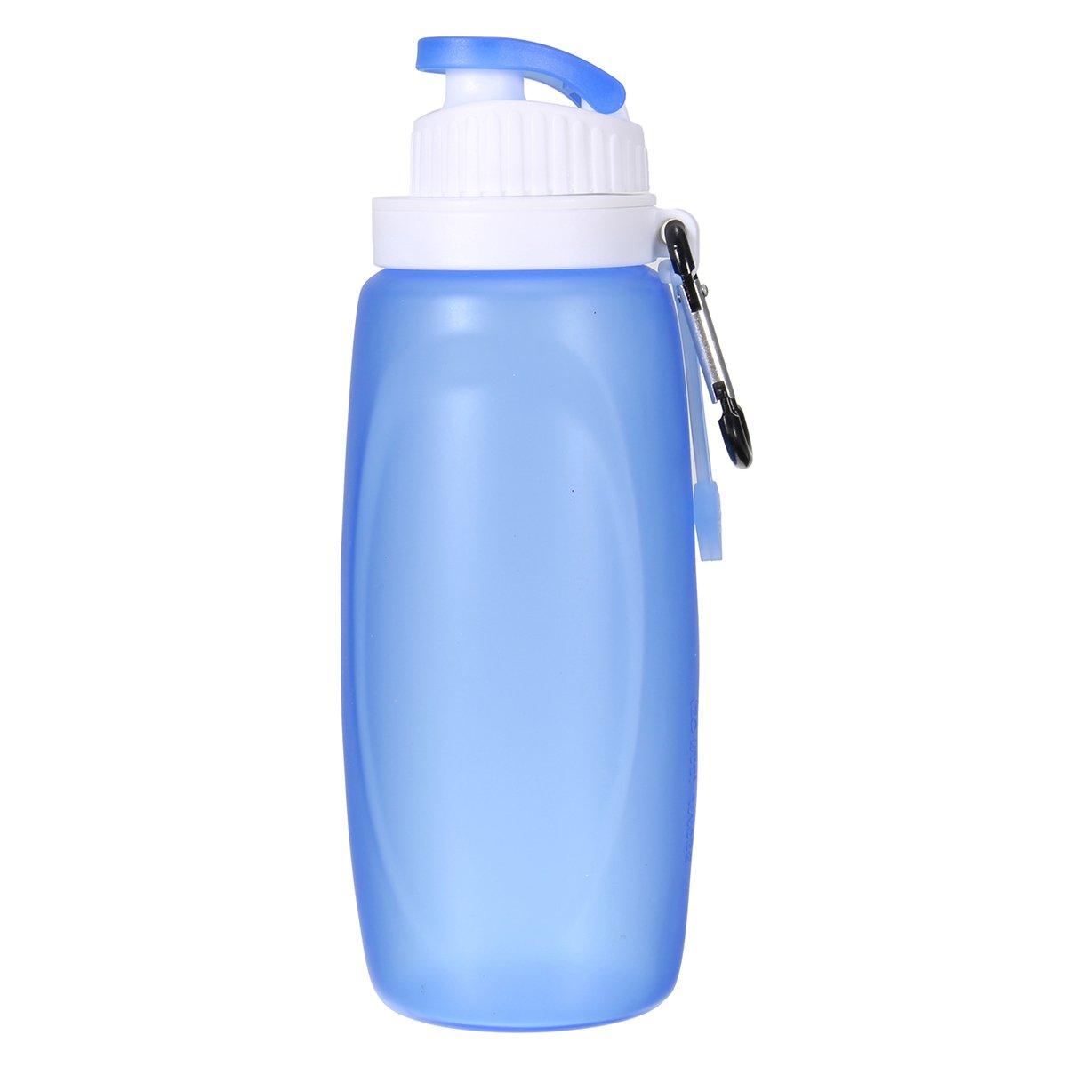 ShopSquare64 - Botella de Agua Plegable de Silicona para para Silicona Deportes al Aire Libre, Viajes, Senderismo (320 ML) 0aada4