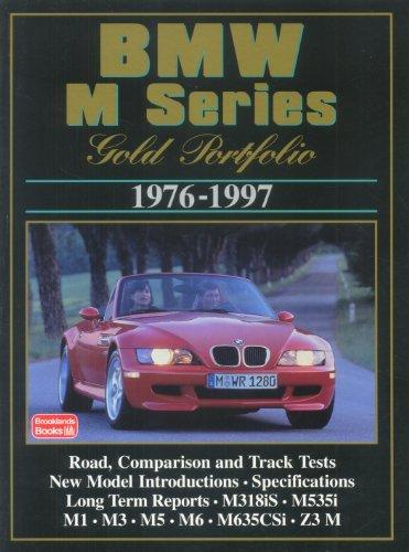BMW M Series: Gold Portfolio 1976-1997 by R.M. Clarke (1998-03-20)