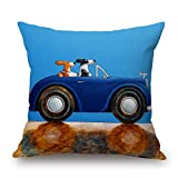 Bestseason 16 X 16 Inches / 40 By 40 Cm Dog Pillow Cases,2 Sides Is Fit For Christmas,bench,divan,monther,club,deck Chair