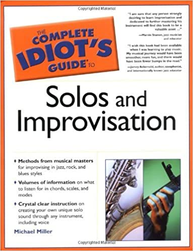 The Complete Idiots Guide To Solos And Improvisation Michael