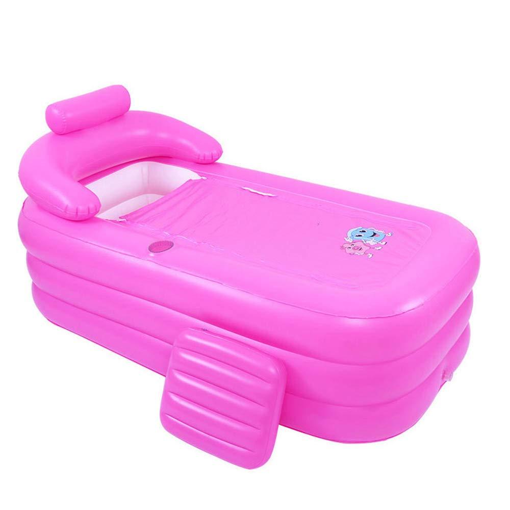 Bathtub Bañera Hinchable baño para Adultos, SPA en casa, Plato de ...