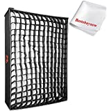 Falcon Eyes RX-18SBHC Honeycomb Grid Softbox Photographic Lighting Soft Boxes for RX-18T,RX-18TD Lightweight LED Light Waterproof Lamp Roll Flexible LED Light Mat