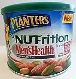 Planters Nut-rition Men'sHealth MIx Almonds, Peanuts, & Pistachios 10.25 Oz (Pack of 4)