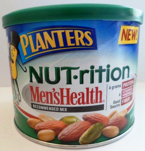 Planters Nut-rition Men'sHealth MIx Almonds, Peanuts, & Pistachios 10.25 Oz (Pack of 4) by Planters