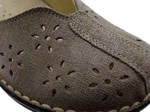 tortora ortopedica scarpa tortora M2313 taupe 36 trafori donna art 1HqRw5c8w