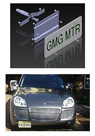 Porsche Cayenne no agujeros placa de licencia Soporte (para todos los modelos de Cayenne sin sensores): Amazon.es: Coche y moto