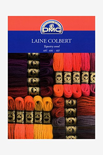 DMC Tapestry Wool Shade Card by DMC