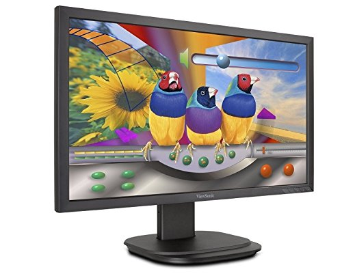 (ViewSonic VG2439M-LED 24 Inch 1080p Ergonomic Monitor with DisplayPort DVI and VGA for Home and Office)