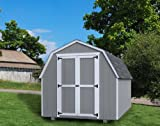 Little Cottage COmpnay 10'x12' Value Gambrel 4' Precut Shed Kit
