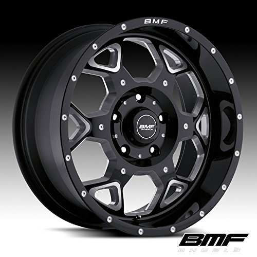 BMF SOTA 20 Black Wheel / Rim 5x150 with a 0mm Offset and a 110 Hub Bore. Partnumber 460B-090515000 (Bmf Rims)