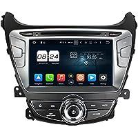 BoCID 1024600 Octa Core 2 din 8 Android 6.0 Car DVD GPS for Hyundai Elantra 2014 With 4GB RAM Radio Bluetooth 32GB ROM Mirror-link