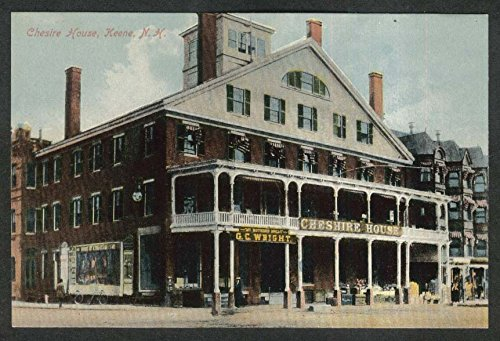 - Cheshire House G C Wright Bakery Keene NH postcard 1910s