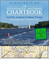 $500 WORTH OF GOVERNMENT CHART AND COAST PILOT COVERAGE--MARKED WITH WAYPOINTS, BRIDGES, AND THE ROUTE! The Intracoastal Waterway Chartbook is a complete set of navigation charts for the 1,090-mile Intracoastal Waterway from Norfolk to Miami,...