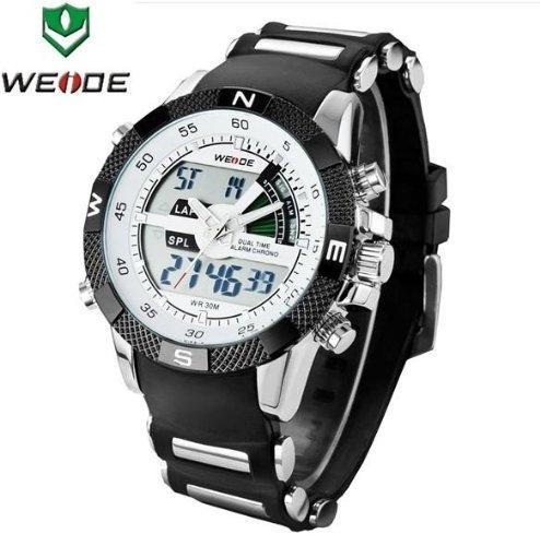 gift-hk 6 color nueva moda Weide para la práctica de deportes reloj analógico y