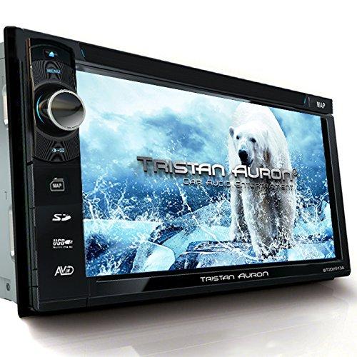 Tristan Auron BT2D7013B Autoradio   6,5'' Touchscreen   Navi Europa   Freisprechfunktion  USB/SD-Slot   CD/DVD   2 DIN