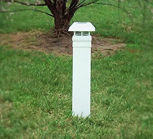 EZ Install Solar Driveway Markers, Set Of 2 by EZ Install Solar Driveway Markers  B01F9ZL94G