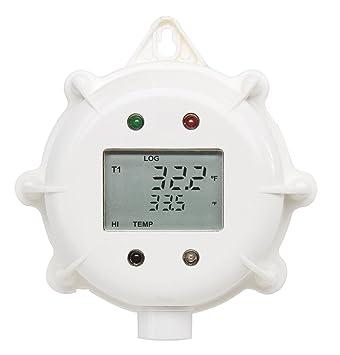 hi141jh/2 – Grabadora de temperatura con pantalla, 2 sensores exteriores (Cable 2