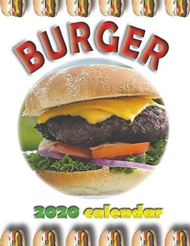 Burger 2020 Calendar by Wall Publishing
