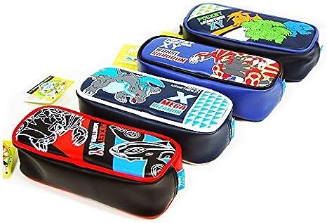 XY Pokemon monstruos de bolsillo estuche bolsa 4 estilos: 1pieza al azar: Amazon.es: Juguetes y juegos