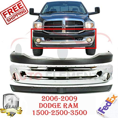03 dodge ram front bumper - 8