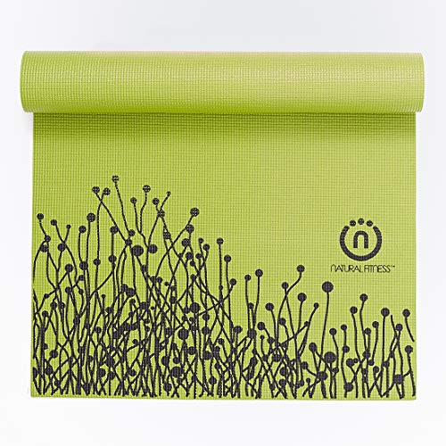 Eco-Smart Yoga Mat in Moss and Night