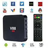 Wayer V88 Rockchip 3229 Quad Core Android 5.1 TV Box 1.5GHZ 1GB/8GB KODI Fully Online Loaded with Sports/3D Movies Smart Streaming Media Player