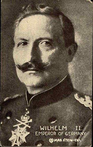 Wilhelm II, Emperor of German Royalty Original Vintage Postcard from CardCow Vintage Postcards