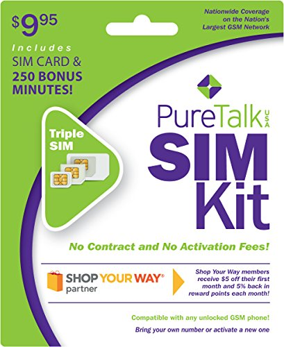 Pure PureTalk USA SIM Kit