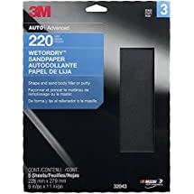 "3M 32043 Imperial Wetordry 9"" x 11"" P220A Grit Sheet"