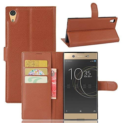 size 40 a1684 ea4e4 Sony Xperia XA1 Ultra Case,Xperia XA1 Ultra Leather Case,OPDENK Synthetic  Leather [Wallet] Pouch case [Card Slots] Book Cover Stand Case Magnetic  Flip ...