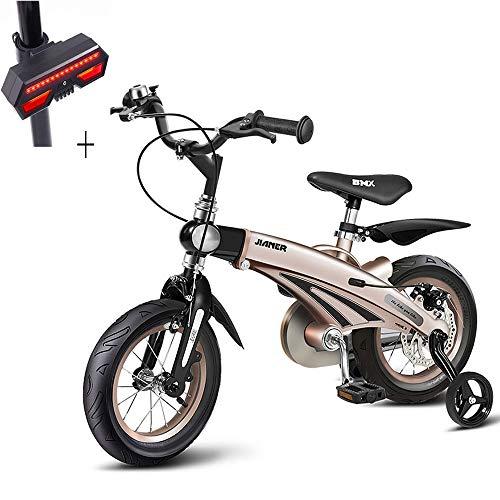 細分化する樫の木第自転車、子供用自転車、14インチ、マグネシウム合金ボディ、取り付けが簡単、滑り止めタイヤ、ギフト自転車のターンシグナル