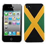 Jamaica National Flag Hard Protector Back Cover Case For Apple iPhone 4