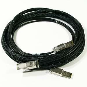 Hp - Cable Scsi (Sas) Externo De Conexión En Serie - 4 Pistas - 4X Shielded Mini Multilane Sas (Sff-8088) De 26 Espigas - 4X Shielded Mini Multilane Sas (Sff-8088) De 26 Espigas - 4 M