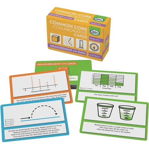 Didax Educational Resources Common Core Collaborative Cards Measurement   Data