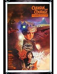 CARAVAN OF COURAGE * AN EWOK ADVENTURE CineMasterpieces VINTAGE ORIGINAL 1984 STYLE A STAR WARS MOVIE POSTER