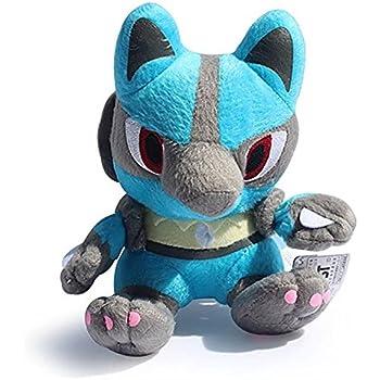 Pokemon Pokedoll Lucario Rukario Plush Doll Stuffed Toy 6 inch Gift