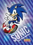 Great Eastern Entertainment 5283 Sonic The Hedgehog Sonic Wall Scroll, 33 by 44-Inch