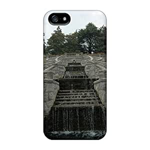 Unique Design Iphone 5/5s Durable Tpu Case Cover Waterfall