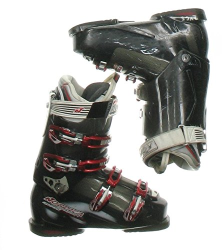 Used Nordica Speed Machine 110 Black Ski Boots Men's Size 10.0 - (Nordica Mens Ski)
