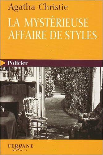 Amazon Fr La Mysterieuse Affaire De Styles Gros